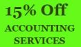 Enjoy 15% Off Accounting Service. Get a Free tote bag*