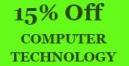 Enjoy 15% Off Computer Technology Service. Get a Free tote bag*
