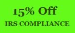 Enjoy 15% Off IRS Compliance Service & Get a Free tote bag*